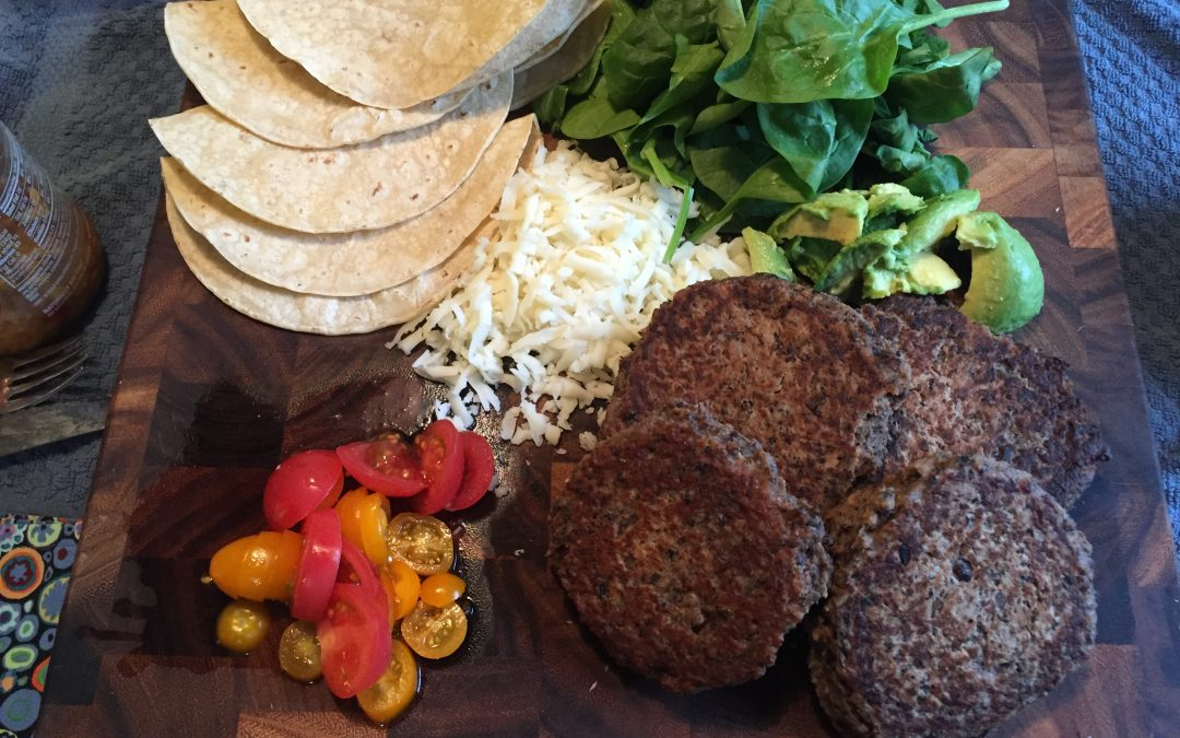 Stellar Strength Black Bean Burgers